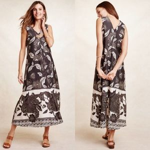Floreat Anthropologie Womens Kiela Maxi Dress